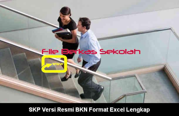 Download SKP Versi Resmi BKN Format Excel Lengkap