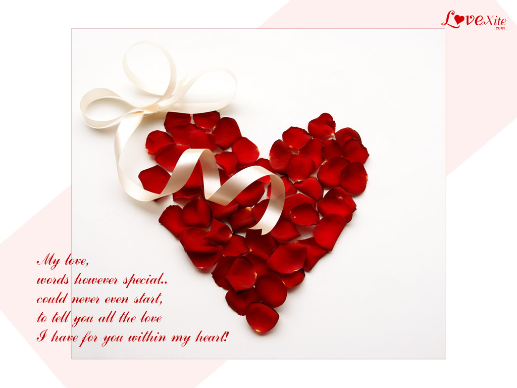 Liebe Hintergrundbild Panorama