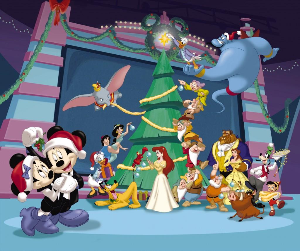 Disneyland Winter Wallpaper Computer