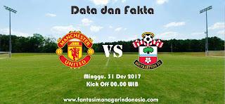 Data dan Fakta Fantasy Premier League Manchester United vs Southampton Fantasi Manager Indonesia
