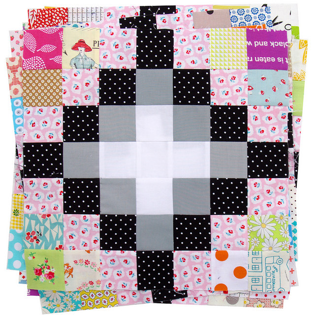 Irish Chain Scrap Buster Quilts | Red Pepper Quilts 2015