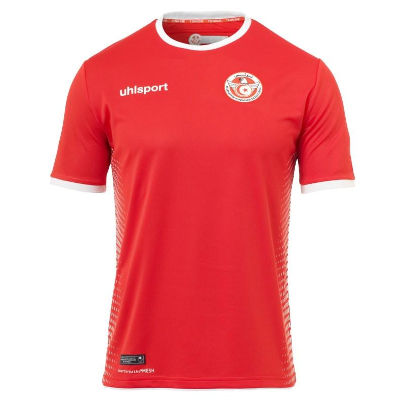 tunisia 2018 world cup home and away kits released footy