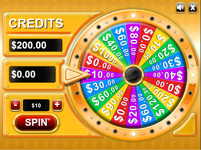 Game Wheel Of Fortune