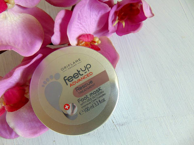 MASCARILLA DE RESCATE PARA PIES SECOS FEET UP ADVANCED