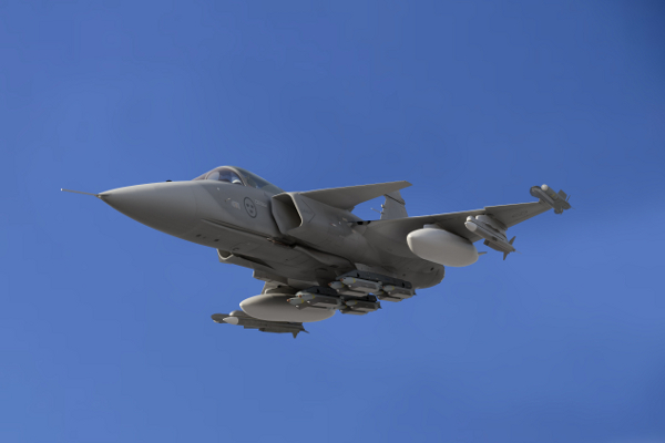 Military And Commercial Technology Gripen E Goes Supersonic