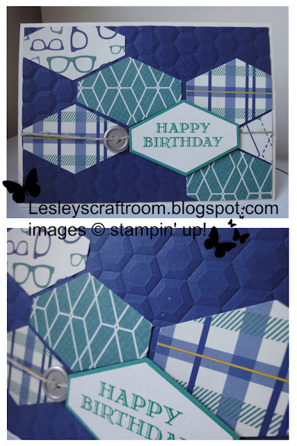 tailored tag punch, true gentleman dsp, stampin up, classes