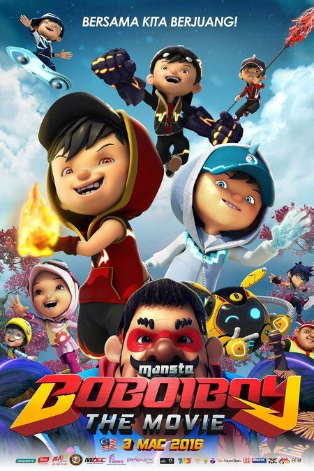 Tonton BoBoiBoy The Movie Full Movie