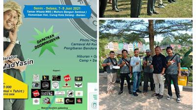 Komunitas Seniman dan Potografer se Banten Rayakan Ultah ke 8