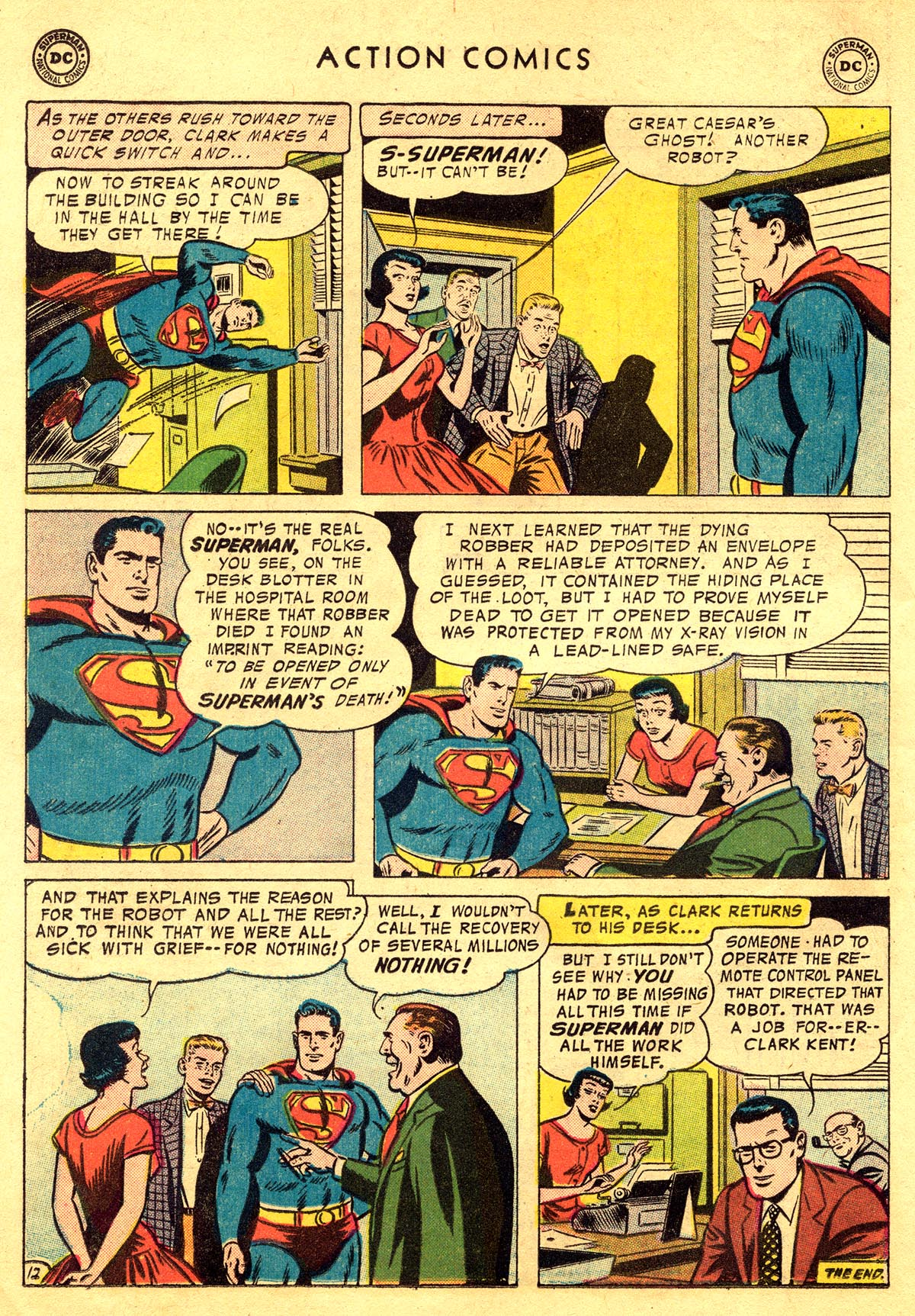 Read online Action Comics (1938) comic -  Issue #225 - 14