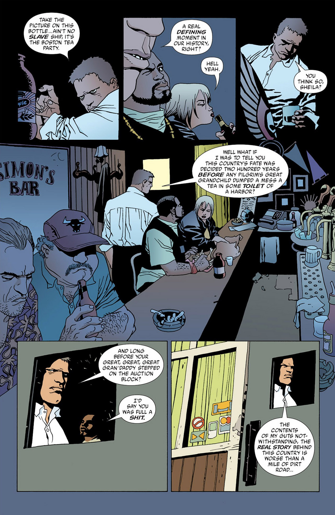 Read online 100 Bullets comic -  Issue #50 - 7