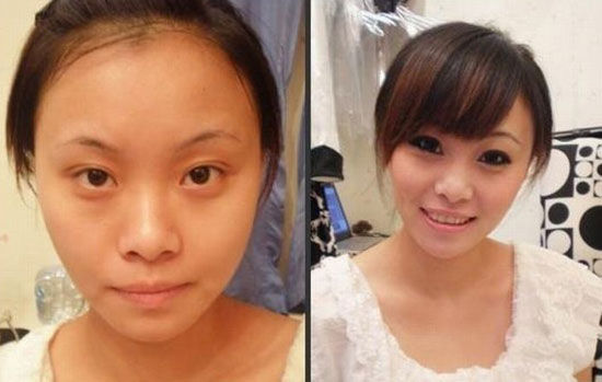White Women Vs Asian Women Without Makeup-2955