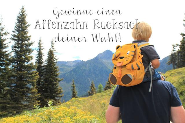 Affenzahn Rucksack Gewinnen Gewinnspiel Verlosung Kinder Kindergarten
