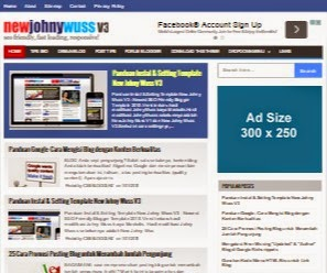 New Johny Wuss V3 - Template Blog SEO Fast Responsive Terbaru 2015
