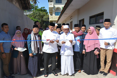 Bupati Hadiri Haul Ke-66 Pendiri Ponpes Al Mutawally