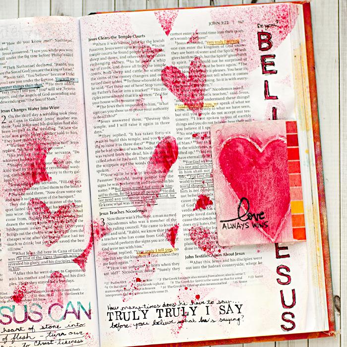 Art Journaling Faith