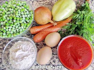 Supa de mazare cu galuste - ingredientele necesare prepararii retetei