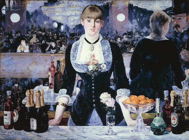 The last major work by Manet—'Bar at Folies-Bèrgères.' Photo: WikiMedia.org.