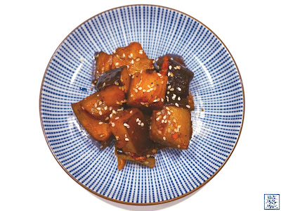 Le Chameau Bleu - Recette des aubergines à la japonaise