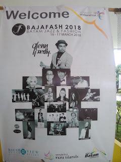 Bajafash 2018, batam, syaharani, glenn fredly, fashion show