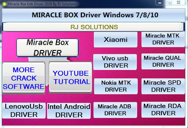 spd usb driver miracle box