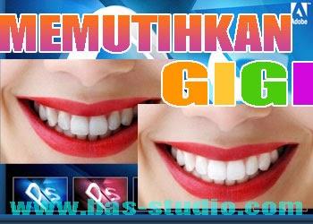 Cara Memutihkan Gigi Dengan Photoshop