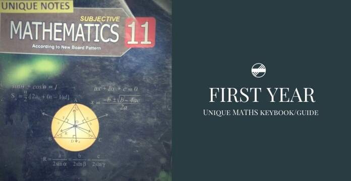 FSC/ICS (INTER) PART 1 (11th class, ) 1st year unique math