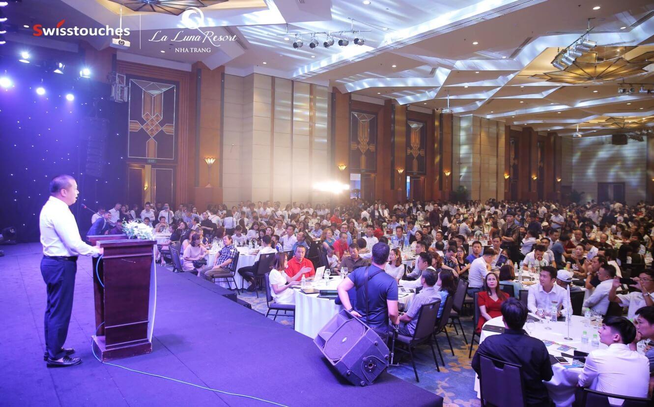 Ông Lã Quang Bình đại diện Chủ đầu tư La Luna Nha Trang