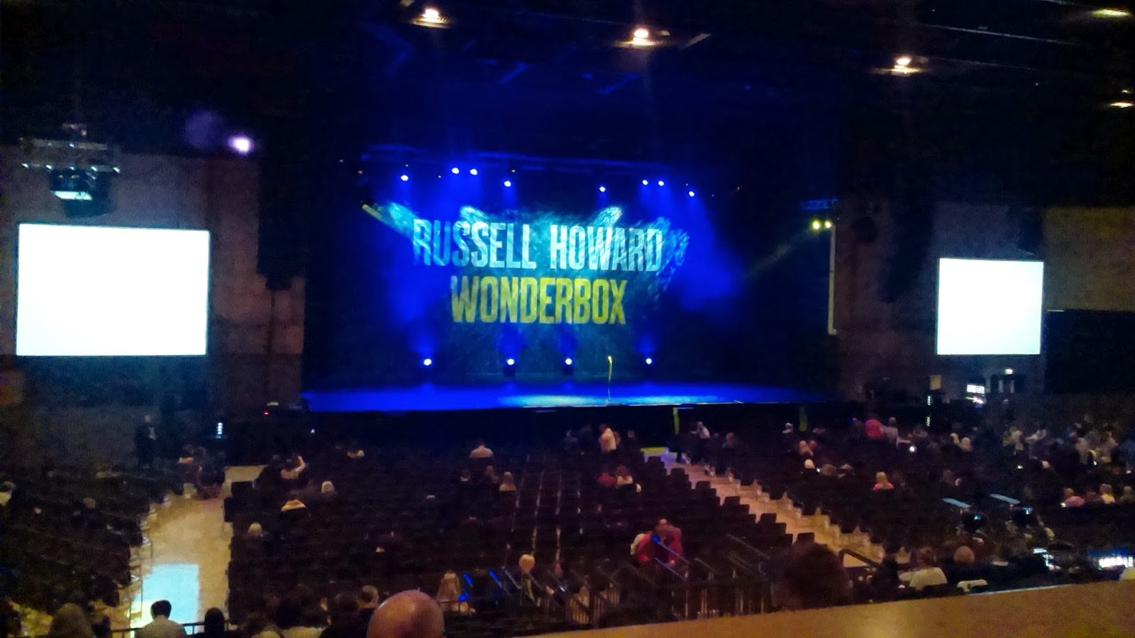 Russell Howard Wonderbox Tour