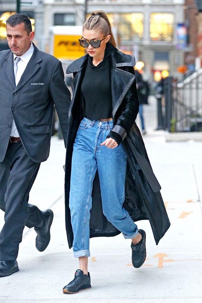 tendenza mom jeans