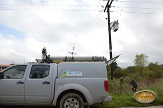 Διακοπές ηλεκτρικού ρεύματος σε περιοχές της Χαλκιδικής