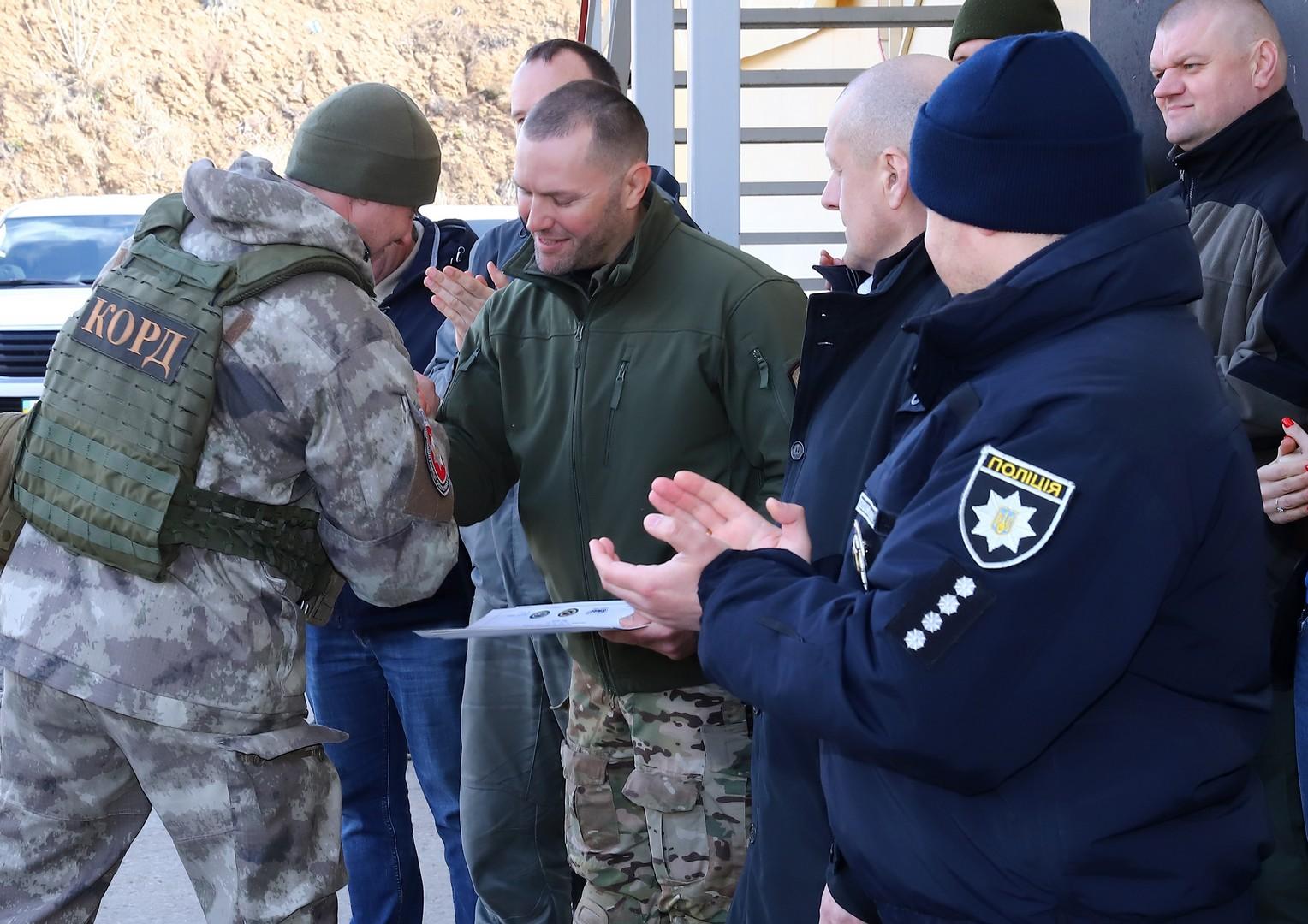 Х'юстонський SWAT вчив ДОЗОР, КОРД і ТОР ламати двері