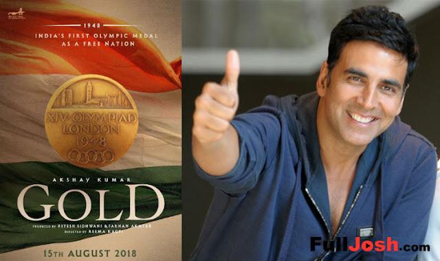 Bollywood Star Akshay Kumar's Upcoming Film Gold Leaked ?