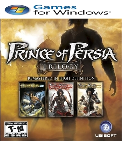 prince of persia trilogy boxart
