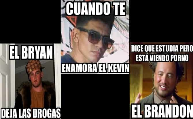 Brandon, Kevin, humor