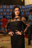 Actress Soniya Stills in Beautiful Black Long Dress at SIIMA Short Film Awards 2017 .COM 0043.JPG
