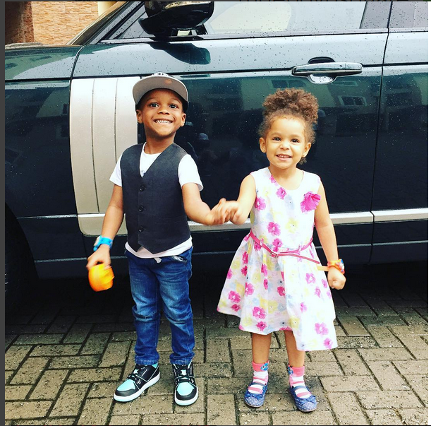 Paul Psquare's Lovely Kids Give Us  A Charming Smile