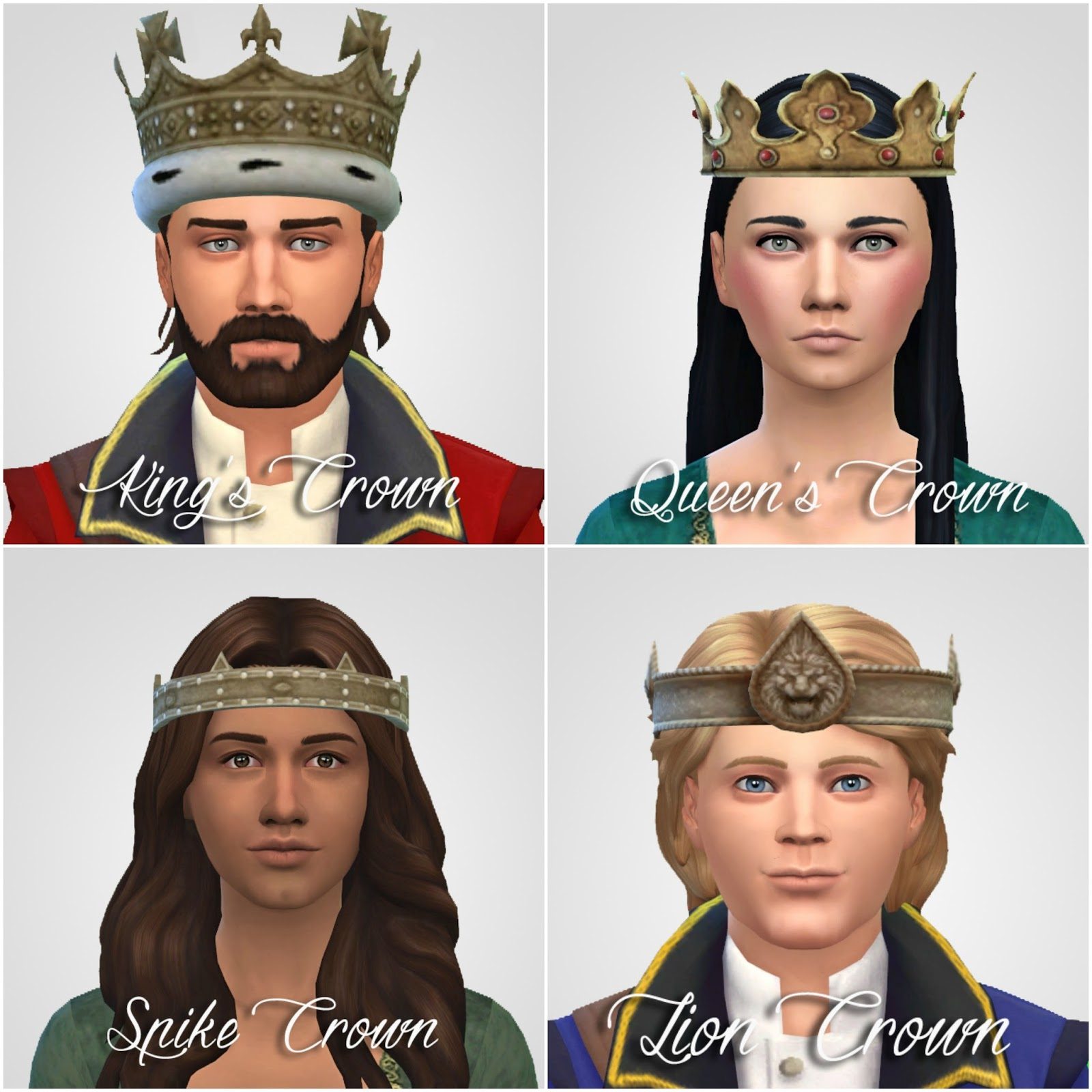 Tsm To Ts4 Crowns Amp Hats Amp Helmet History Lover S Sims Blog