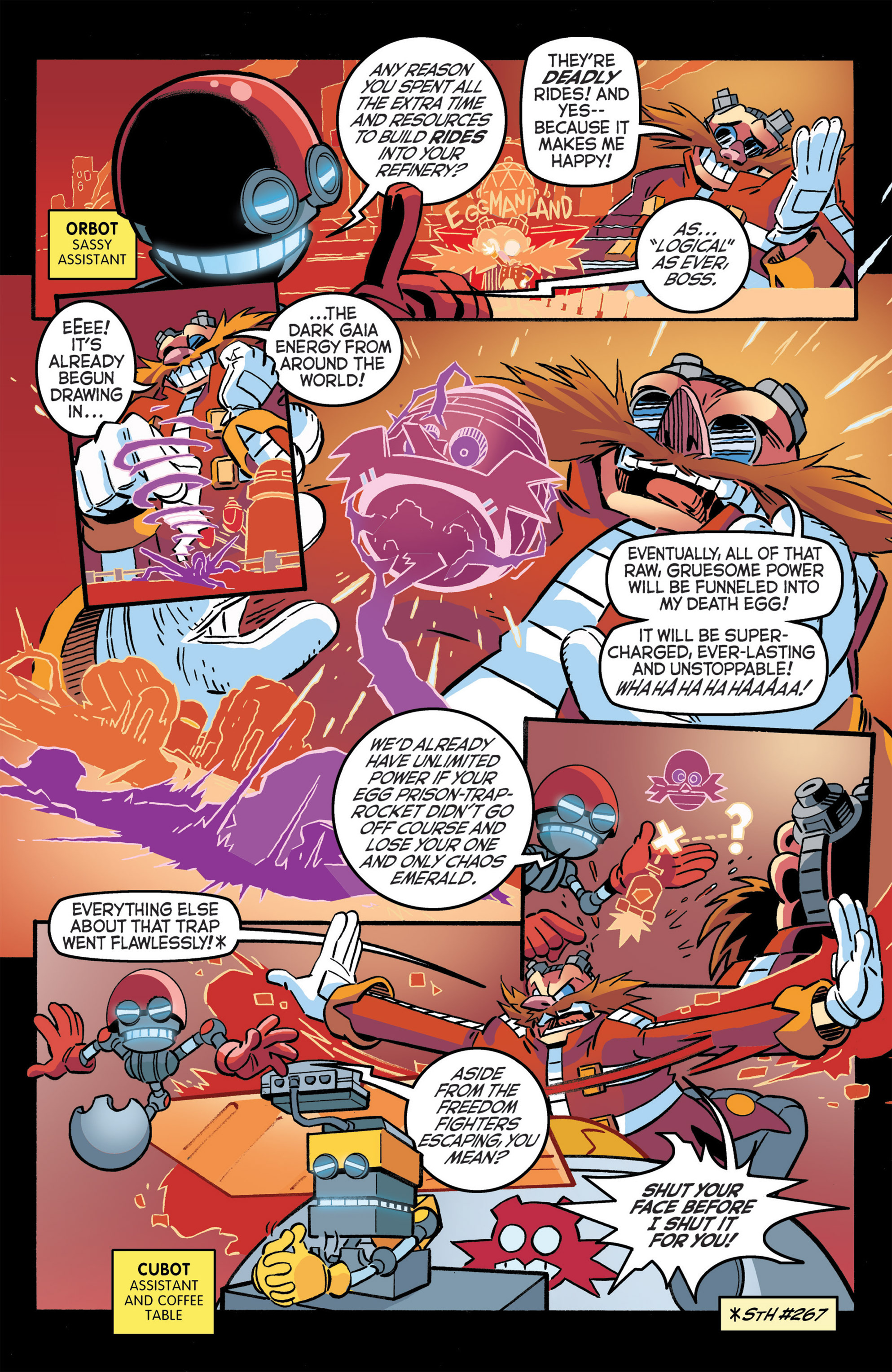 Read online Sonic The Hedgehog comic -  Issue #276 - 14