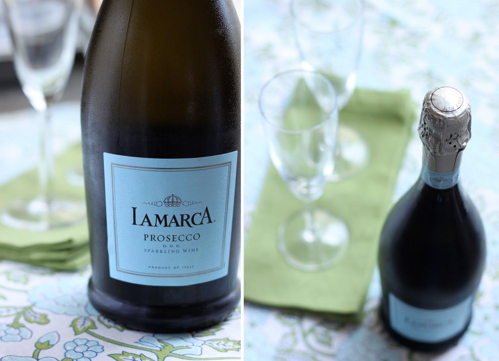 Marca: The Cilantropist: Sparkling Wine With Lemon Thyme Sorbet
