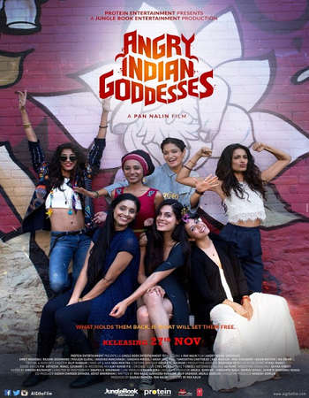 Download Angry Indian Goddesses 2015 Hindi 350MB HDRip 480p