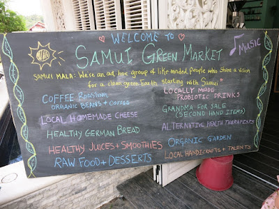 Next Samui Green Market Sunday 31st December
