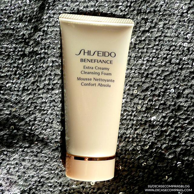 Resenha: Shiseido Benefiance Extra Creamy Cleansing Foam
