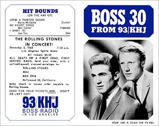 KHJ Boss 30 No. 14 - Jan & Dean