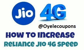 How to increase Jio 1GB 4G speed data limit