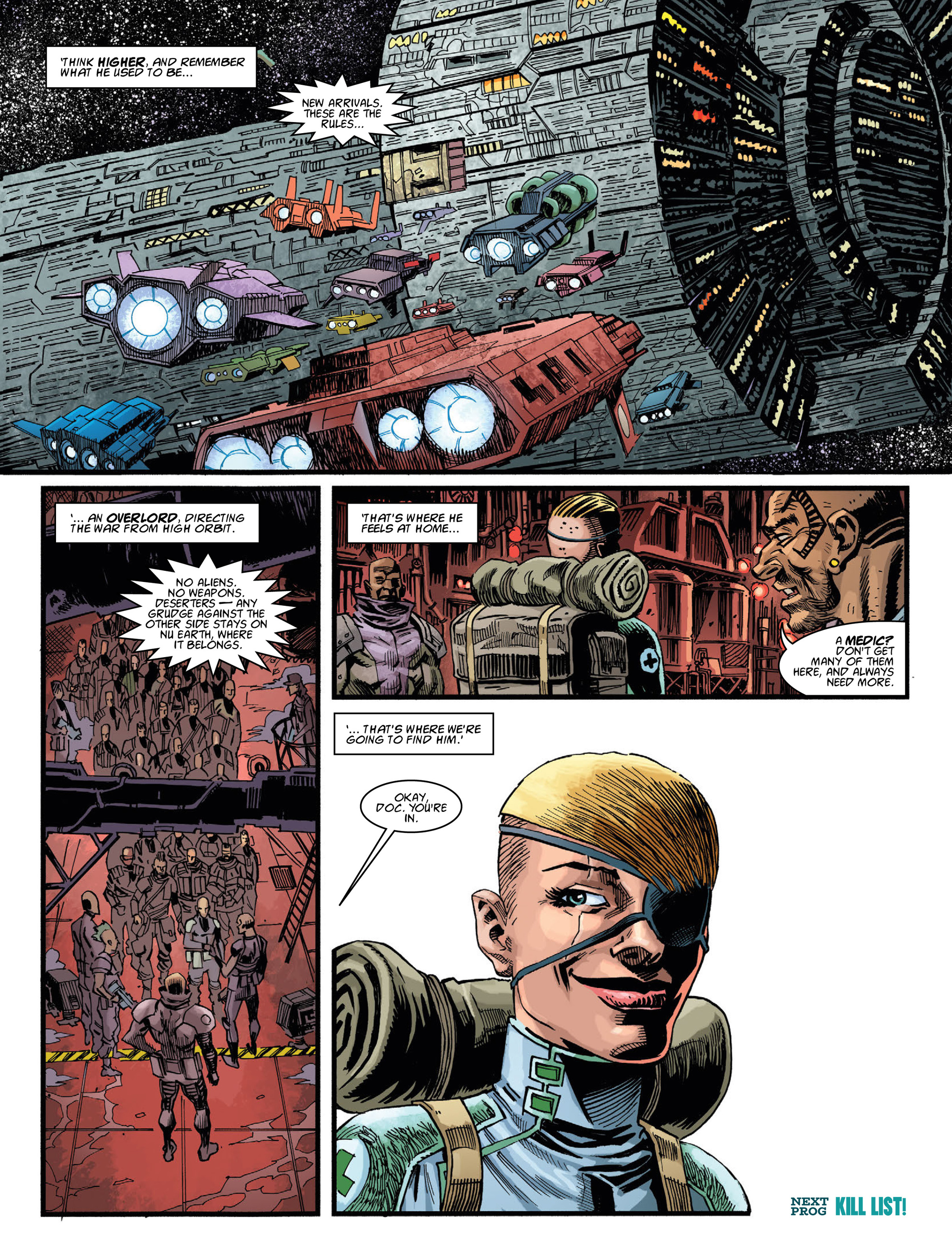 Read online 2000 AD comic -  Issue #2036 - 30