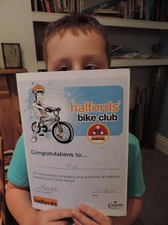 scouts cyclingbadge halfords bike certificate
