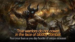 bertarung satu lawan satu dengan musuh yang mengerikan untuk meningkatkan level melalui d Unduh Game Android Gratis Codex The Warrior apk + data