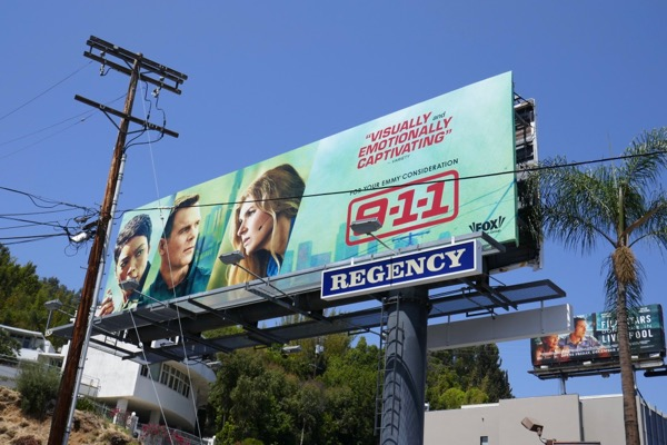 911 Emmy FYC billboard