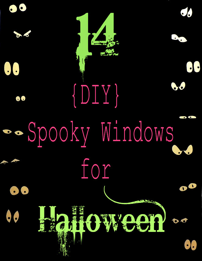 Youu0027ve still got a couple weeks to get your windows dressed up for the holiday and here are 13 more ideas for how to decorate your windows for Halloween.  sc 1 st  Crafting in the Rain & 14 Halloween Window Ideas | Crafting in the Rain