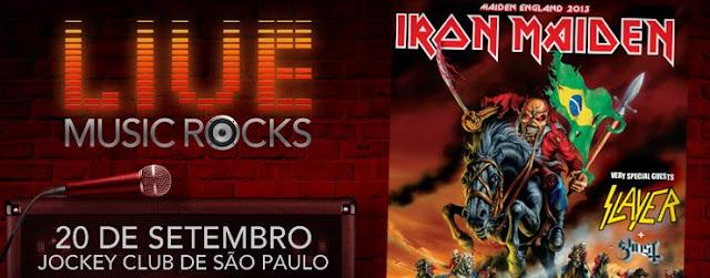 Live Music Rocks - Iron Maiden